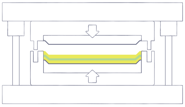 compression-molding